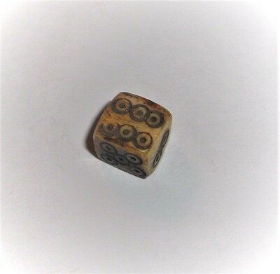 Ancient Roman Empire, 1st - 3rd c. AD. 6-sided Gambling Die