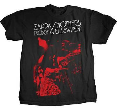 FRANK ZAPPA Roxy & Elsewhere T SHIRT S-M-L-XL-2XL New Official Hi Fidelity Merch