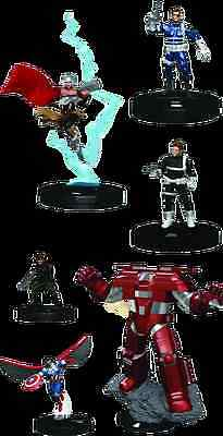 Wizkids Games--Heroclix - Nick Fury Agent of SHIELD Fast Forces 6 pack