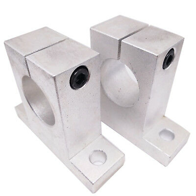 US Stock 2pcs SK30 SH30A Linear Rail Shaft Support XYZ Table CNC