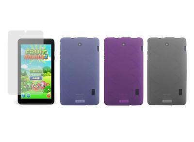 """TPU Case and Screen Protector for Barnes & Noble Nook Tablet 7"""" (BNTV450) 2016"""
