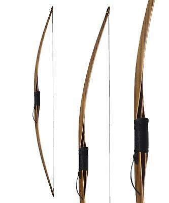 Langbogen Longbow BIG TRADITION Black Trophy - 68 Zoll - 30-55lbs - inkl. Sehne