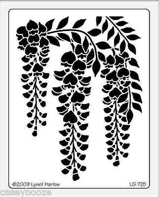 Dreamweaver Stainless Steel Embossing Stencil - Wisteria - Blossom - New