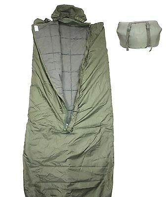 Original Schlafsack Sack Om Oliv Outdoor Camping Angeln Nato Wanderung Military,