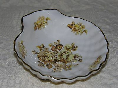 Vintage Crown Devon Shell Dish Soap Trinket Made in England