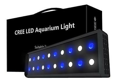60W Cree Classic Overhead LED Marine Aquarium Fish Tank Light with Dimmer