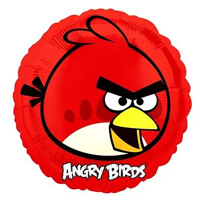 Anagram 18 Inch Foil Balloon - Red Bird - Angry Birds Birthday Party Movie