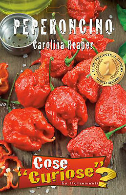 3 Semi/Seeds PEPERONCINO Carolina Reaper - Originale