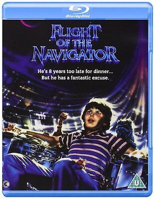 Blu-Ray  Flight Of The Navigator       New Sealed Uk Stock