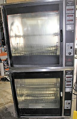 Henny Penny Double Rotisserie Model SCR-8 Electric with baskets