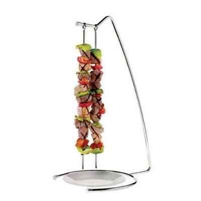 World Cuisine - 42417-22 - 4-Skewer Stainless Steel Stand Set