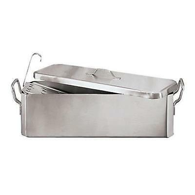 World Cuisine - 41964-60 - 7 1/2 in x 24 in Stainless Steel Fish Poacher