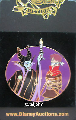 Disney Disney Auctions Maleficent and Phillip Pin
