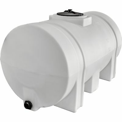 RomoTech Poly Storage TankLegged Tank, 125-Gallon Capacity,# 2394