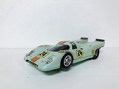 Scalextric Triang Exin PORSCHE 917 GULF REF. C-46 #23 Made In Spain Slotauto