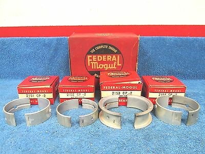 1956-62 CHEVY  235ci & 261ci  .002 UNDER  MAIN BEARING SET  NOS  117