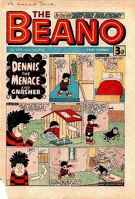 Uk Comics The Beano 250+ Humour Comics From 1975-1979 On Dvd
