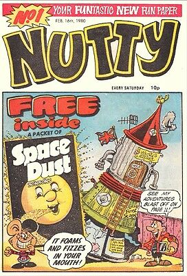 Uk Comics Nutty Complete Collection Of 290+ Humour Comics On Dvd