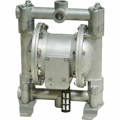 Roughneck Air-Operated Double Diaphragm Pump12 GPM, 1/2in. Inlet & Outlet