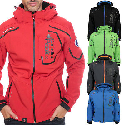 Canadian Peak Geographical Norway Triyuga Softshell Jacke Outdoor winddicht neu