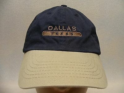 Dallas, Texas - Embroidered - Adjustable Ball Cap Hat!