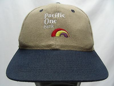 Pacific One Bank - Adjustable Snapback Ball Cap Hat!