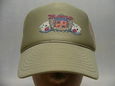 Reno - Nevada - Trucker Style Snapback Ball Cap Hat!