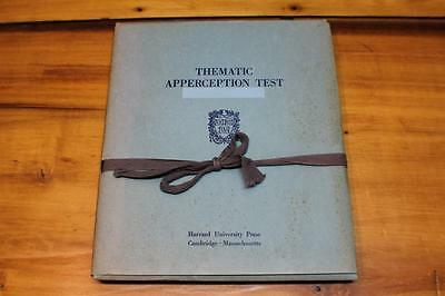 Vintage Thematic Apperception Test TAT by Henry A Murray