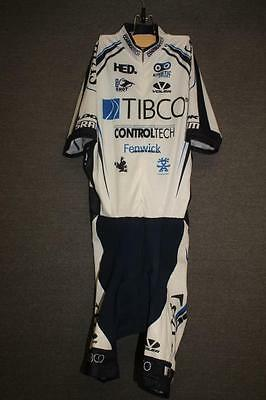 Pro Team VOLER Womens Medium cycling bike skinsuit speed suit bicycle tibco
