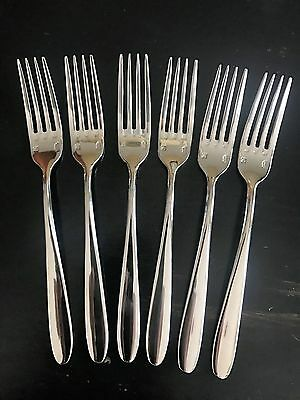 USA SELLER  6 Sant Andrea Mascagni Table Forks New 18/10 Free Ship USA Only