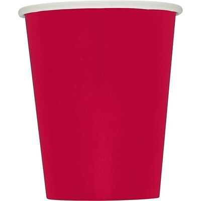 9oz Red Paper Cups, Pack Of 14