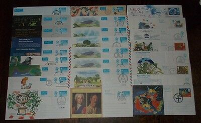 Gb Airmail Letter Aerogramme Covers Unused Cto (Cancelled To Order) Choose Cover