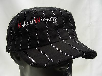 Naked Winery - Cadet Style - Adjustable Cap Hat!