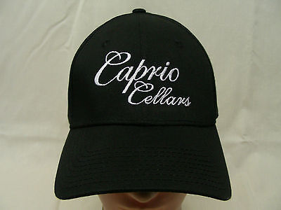 Caprio Cellars - Walla Walla Wine - Embroidered - S/m Size Fitted Ball Cap Hat!