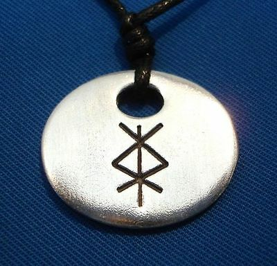 PROTECTION BIND RUNE Wicca Pagan Witch Goth Norse
