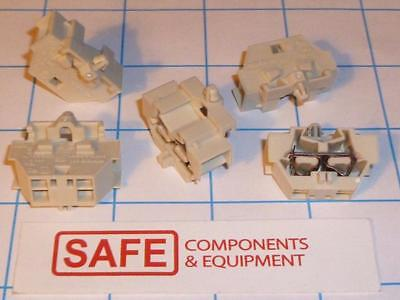 WAGO 261-341 4-Conductor Terminal Block DIN 35 Rail Snap-in Mount QTY-5 C32