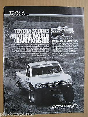 1988Toyota Quality - Who could ask for anything more AD