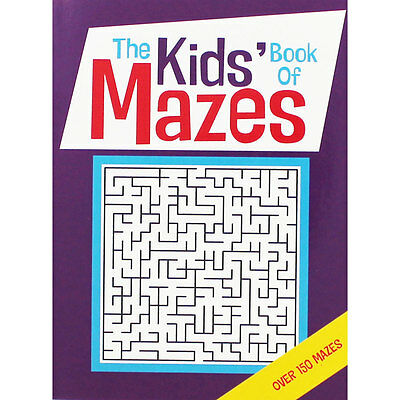 The Kids Book Of Mazes by Gareth Moore (Paperback), Children's Books, Brand New