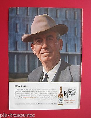 1957 Old Kentucky Tavern Whiskey - Timed to Perfection 7 Full Years AD