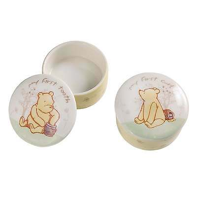 Classic Pooh Winnie The Pooh Childrens First Tooth & Curl Boxes New Boxed A21827