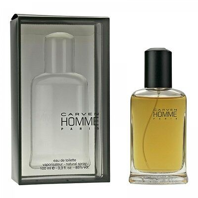 100 ml HOMME Carven Edt. Eau de Toilette Spray
