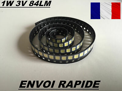 Led Retro-Eclairage Jufei Led 1210 3528 2835 1W 3V 84Lm Modele 01.jt.2835Bpw1-E