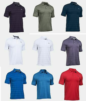 New For 2017 - Under Armour Playoff Golf Polo UA Men's Performance Polo Shirt