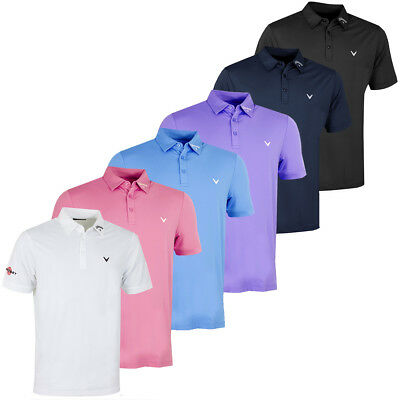 Callaway Golf 2017 Mens Opti-Vent Tour Polo II Shirt