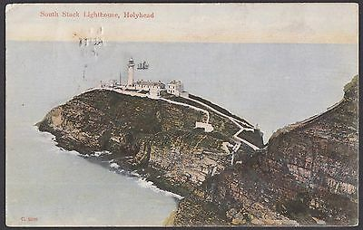 South Stack Lighthouse,  Holyhead   Posted 1905  (427)