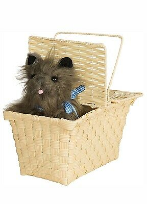 The Wizard Of Oz Toto In The Basket Costume Accessory One Size