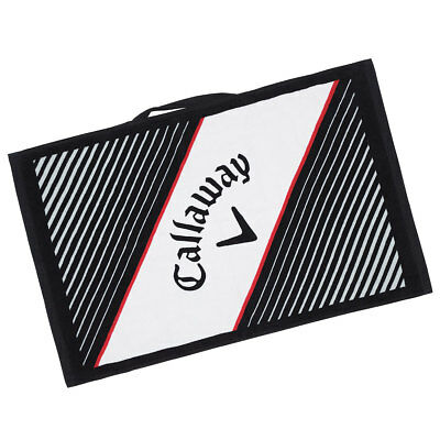 "Callaway Golf 2017 Cotton Cart Towel Super-Soft Absorbent 16""x24"" - White"