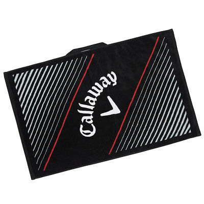 "Callaway Golf 2017 Cotton Tour Towel 20""x30"" - Black"