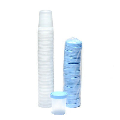 Specimen Cups With Lids 4 Oz  25/pkg