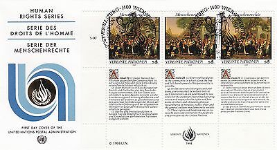 United Nations 1993 Human Rights Series Unadressed(2) FDC